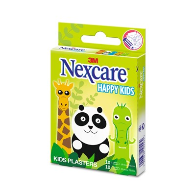 PANSEMENT NEXCARE™ HAPPY KIDS ANIMAUX ASSORTIMENT