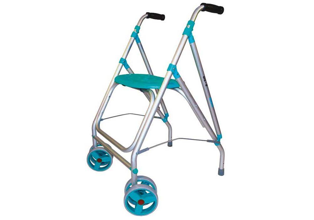 Rollator 2 roues Ara-D Turquoise Identités