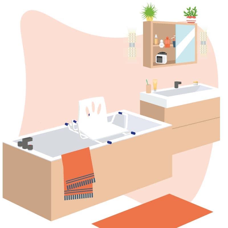 Sièges de bain