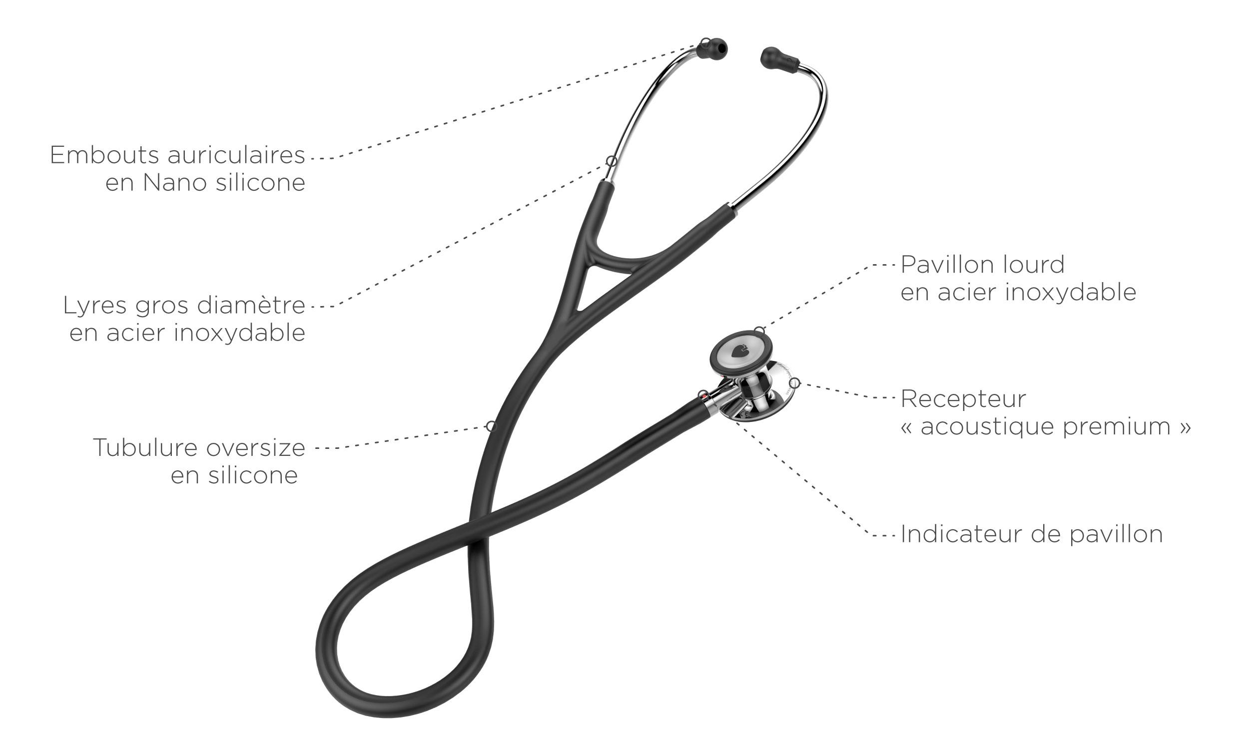 stéthoscopes spengler cardio prestige