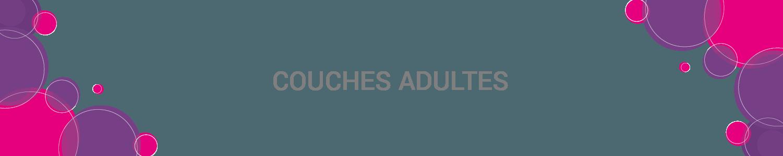 COUCHE ADULTE