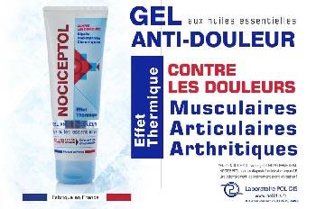 gel anti douleur