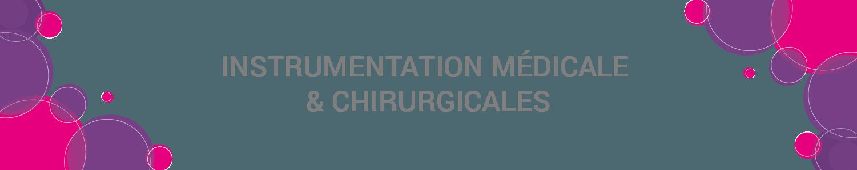 instruments chirurgicaux et médicaux